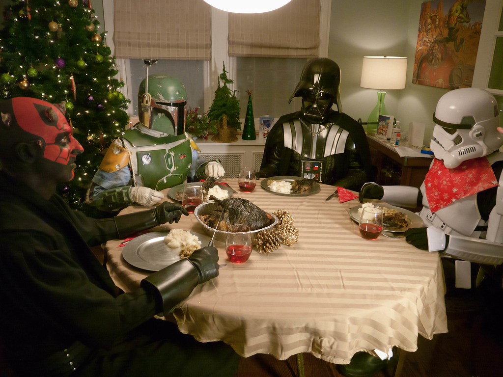 Star Wars Christmas Dinner | Daragh Sankey | Flickr