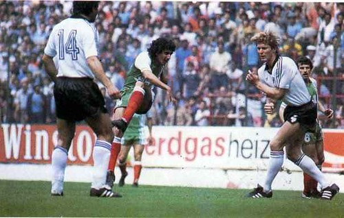 Alg rie allemagne 2 1 a gijon coupe du monde 1982 en esp flickr - Coupe du monde france allemagne 1982 ...