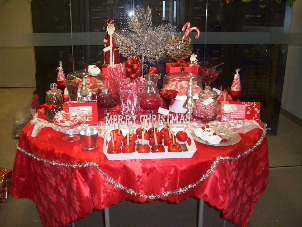 Christmas Candy Buffet Bar From All The Inspiration Gather Flickr