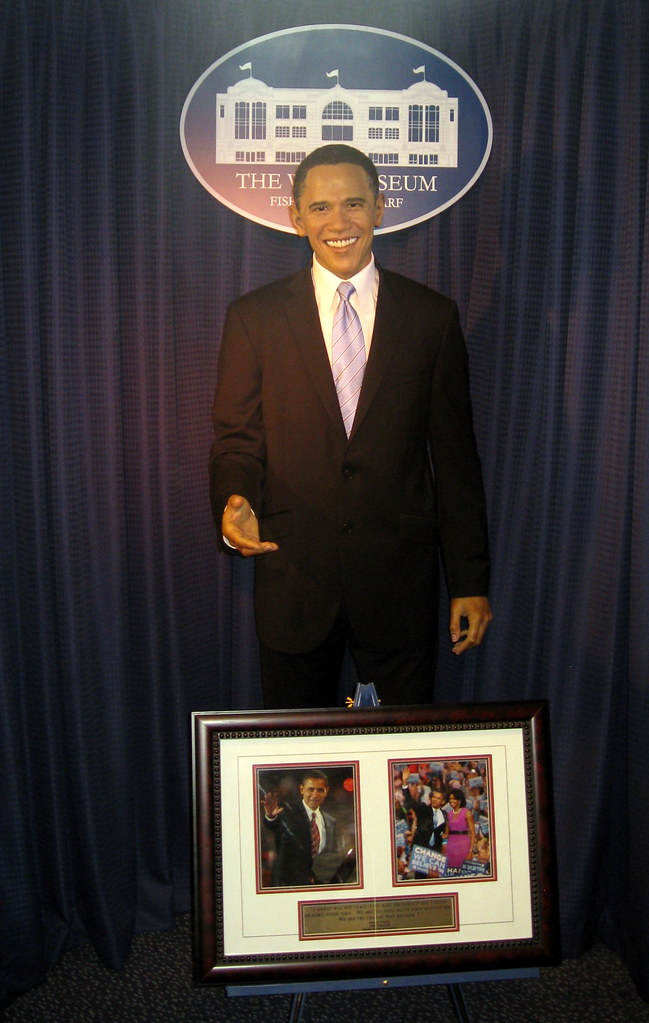 San Francisco - Wax Museum - Barack Obama   Jared   Flickr