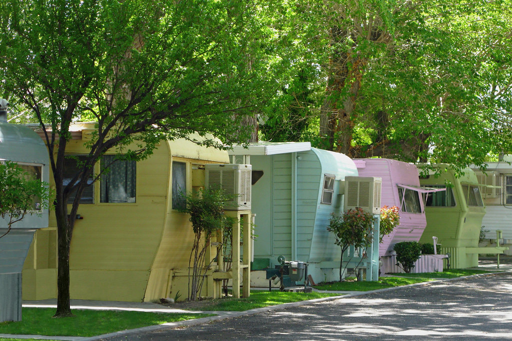 I Could Be Trailer Trash In This Mobile Home Park REAL Eas