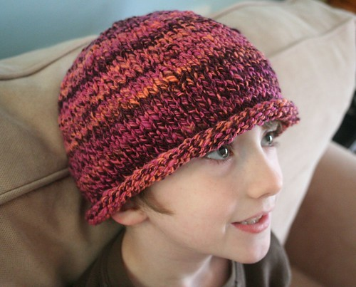 for Rav: handspun roll-brim hat | by earthchick
