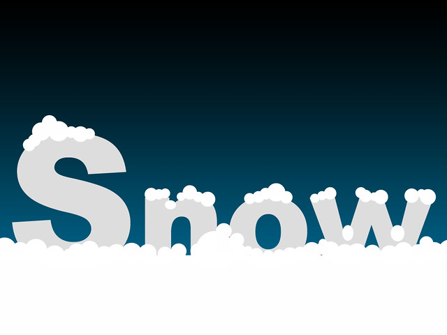 Snow Text | Photoshop Tutorials @ Designstacks