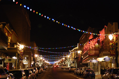 Christmas Lights on Main Street | by advencap