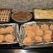 Linzer Cookies, Chocolate Pecan Pie, Baklava and Peanut Butter Cookies