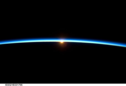 Sunset Over Earth (NASA, International Space Station Science, 11/23/09) | by NASA's Marshall Space Flight Center