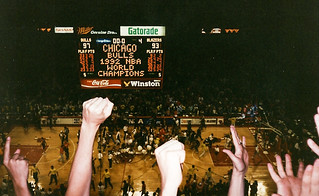 Bulls win the 1992 NBA Championships | by Robby Russell