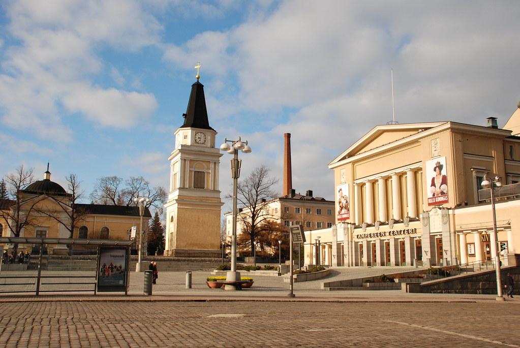 Tampereen Vanha kirkko & Teatteri | Flickr - Photo Sharing!