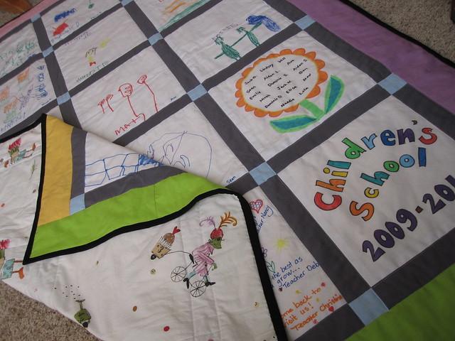 Quilt Patterns For Kindergarten : Preschool Class Quilt Flickr - Photo Sharing!