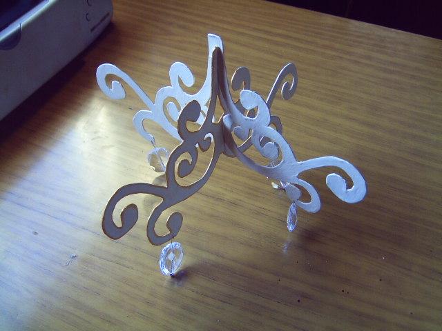 Chandelier de carton | 314 256 010 081 | lucia nas | Flickr