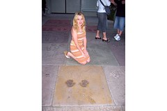 Me and Marilyn's Hand Prints | by almie.rose