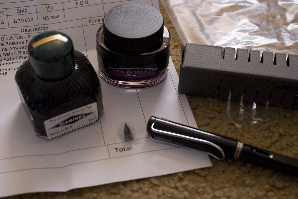 Swisher Pens Order   My swag: Private Reserve Plum Ink ...