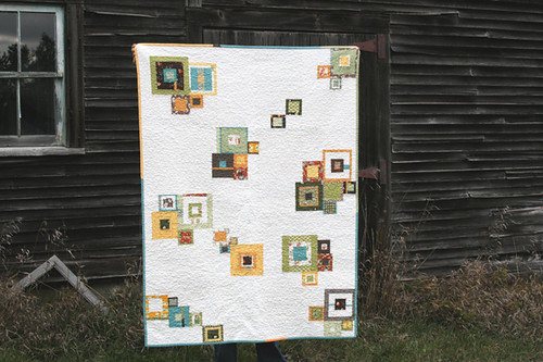 a quilt for a new baby | by filminthefridge