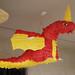 knight party red dragon pinata