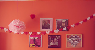 valentine wall (style school project 17!) | by karine*imagine