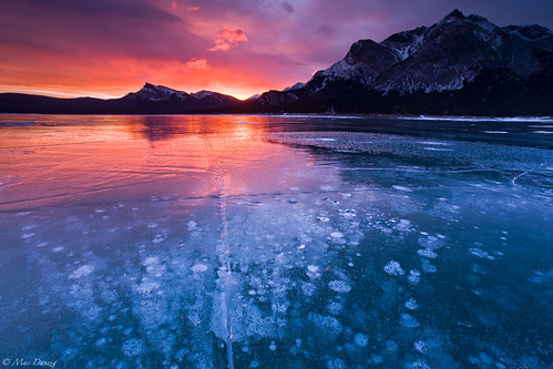 fire on ice... | by Mac Danzig Photography