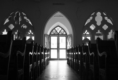 play of light in santhome church | by VinothChandar