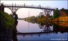 Warrington Warburton Cantilever MSCC Bridge, Cheshire UK by @HotpixUK -Add Me On Ipernity 500px