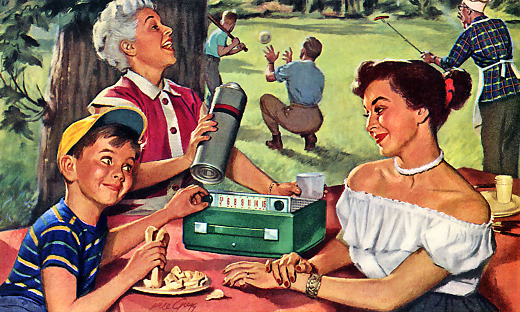Image result for vintage picnic