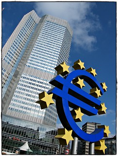The powerful European Central Bank [ E C B ] in the heart of Frankfurt/Main - Germany - The Europower in Mainhattan - Enjoy the glances of euro and europe....03/2010....travel around the world....:) | by || UggBoy♥UggGirl || PHOTO || WORLD || TRAVEL ||