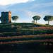 Loneliness. Italian landscape