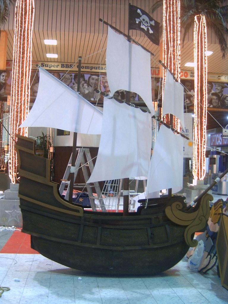 El Barco Pirata De Garfio - Nofande