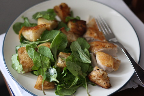 Chicken Croutons & Wilted Greens | by Madison Bistro