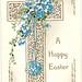 Vintage postcard, Easter greetings