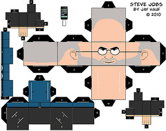 Recortable Steve Jobs | by Dani Gutiérrez
