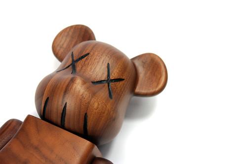 Kaws Bearbrick wood | BFLV | Flickr