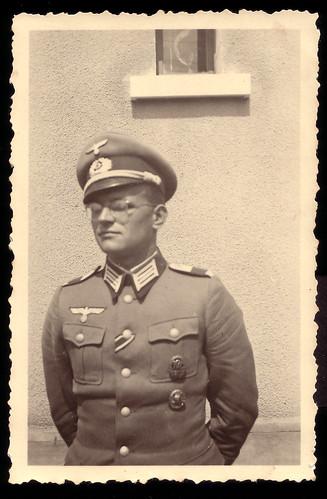 Portrait Of A German Officer