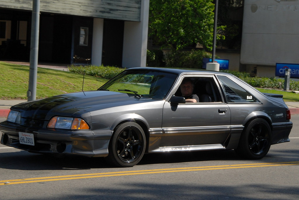 Ford Mustang 5 0 Gt Foxbody Hatchback Navymailman Flickr