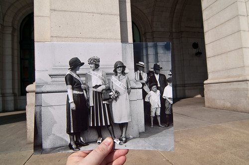 Looking Into the Past: Beauty Pageant Winners, Union Station, Washington, DC | by jasonepowell
