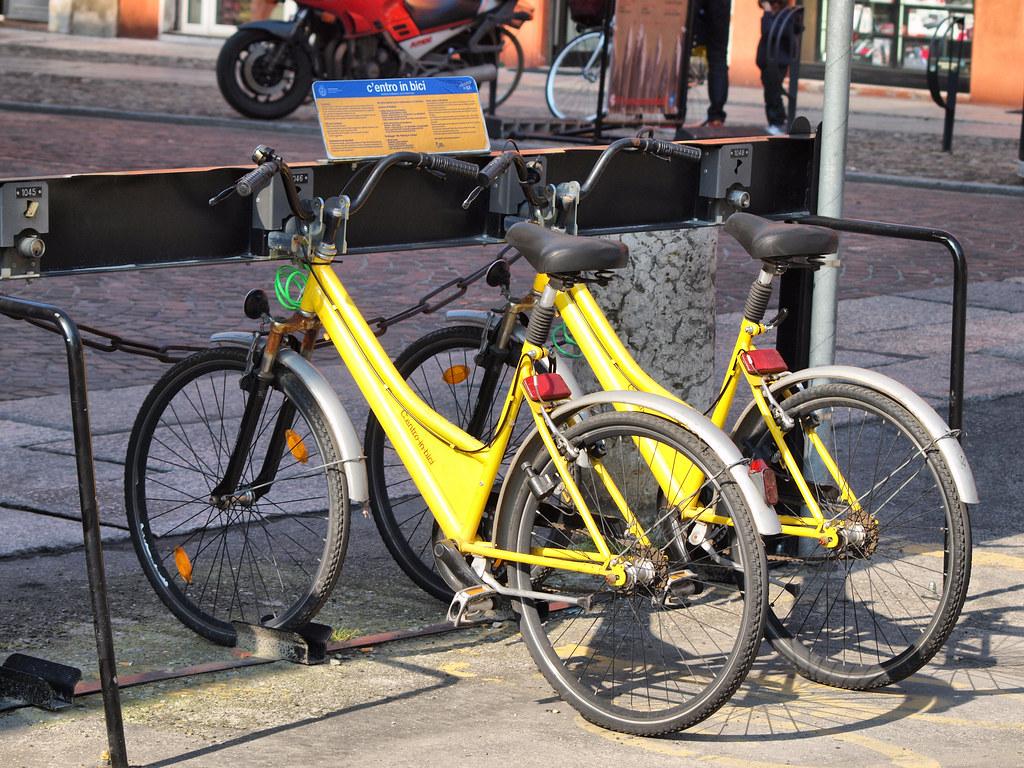 Modena Hire Bikes  Ken Hircock  Flickr