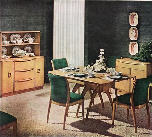 1950s Heywood Wakefield Dining Room