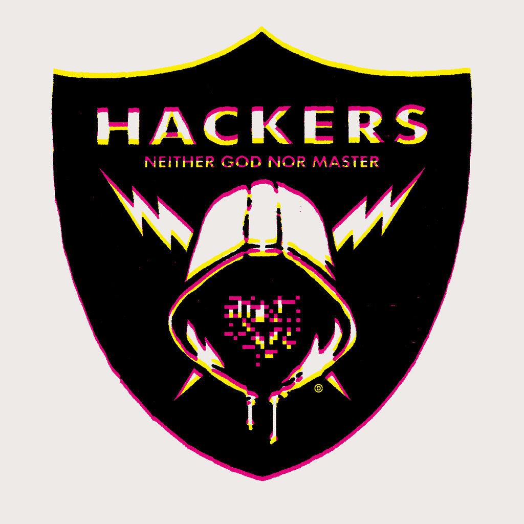 HACKER | Graphic design based on the NFL Raiders logo. The ...