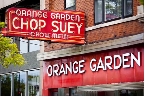 Orange Garden Orange Garden Restaurant 1942 W Irving Park Flickr