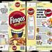 General Mills - Fingos - Cinnamon - cereal snack box - 1993