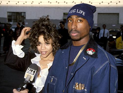 Rosie Perez And Tupac Shakur Rosie Perez And Tupac