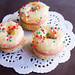 Doughnut Macarons with Strawberry Jam Buttercream