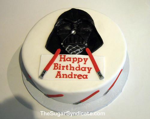 Darth Vader Cake Decorations