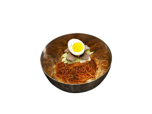Bibim-naengmyeon Spicy Mixed Buckwheat Noodles | by KOREA.NET - Official page of the Republic of Korea