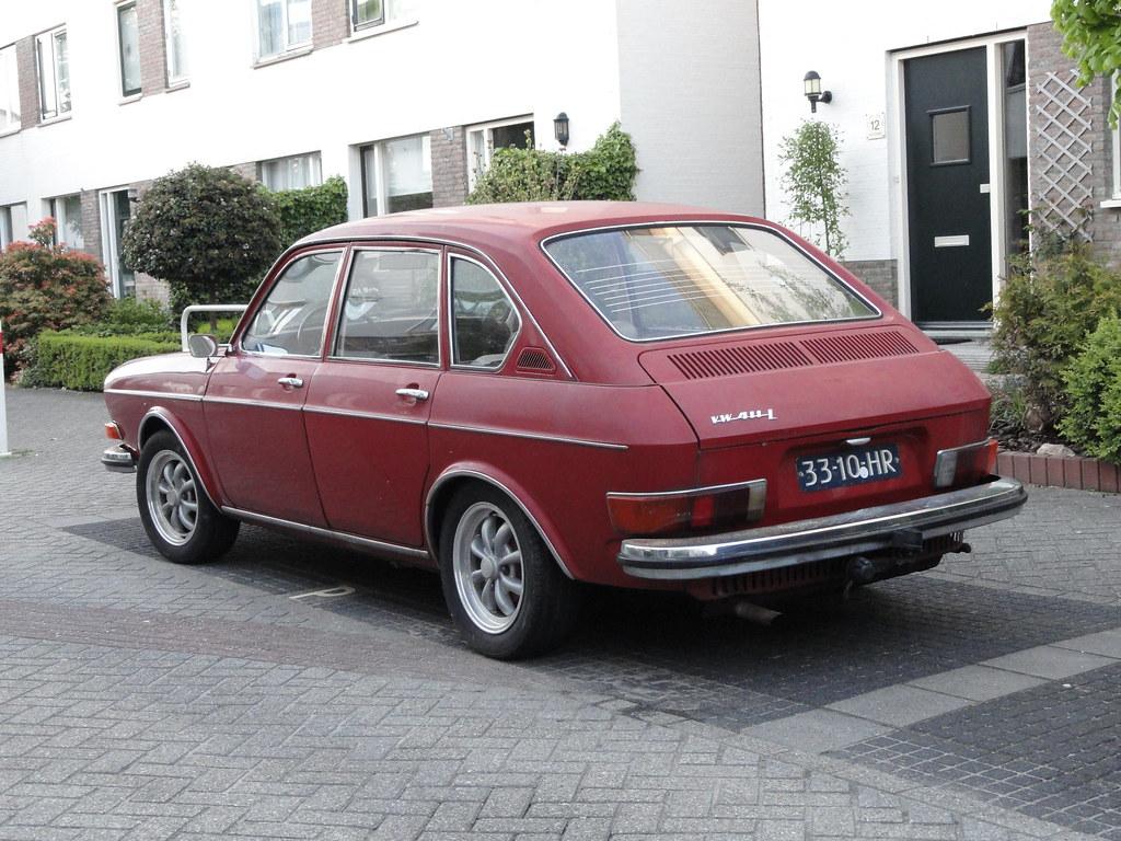 1969 Vw 411 L 18 May 2010 Alphen A D Rijn Netherlands
