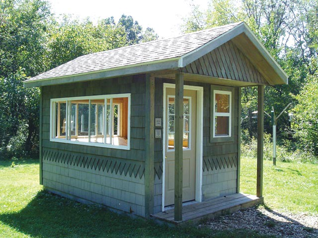 8x14 pro weekender ranch options shown paint windows for Tuff sheds