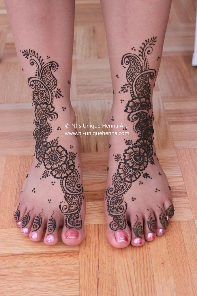 Bridal Mehndi Rates Nj : Aman s bridal henna feet nj unique art flickr