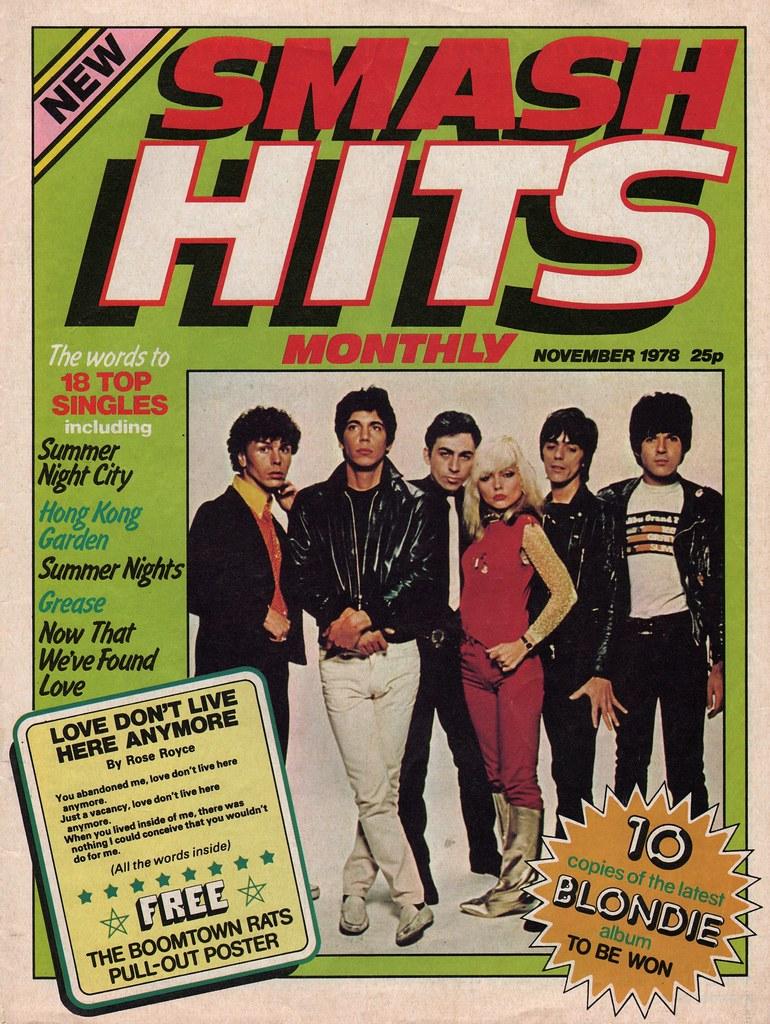 Smash hits november 1978 flickr Deniece williams i come to the garden alone