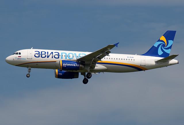 EI-ELN Avianova  Airbus A320-232