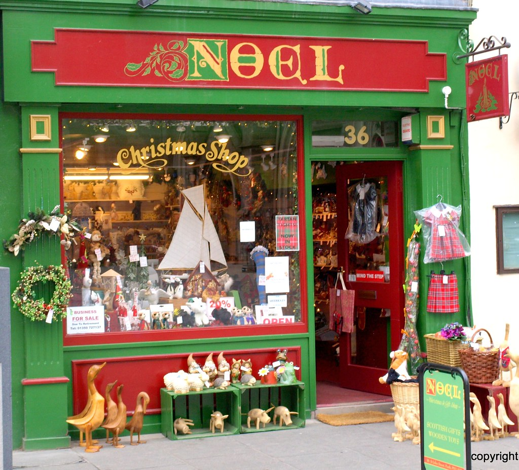 Christmas Shop | The Noel Christmas Shop is situated in one … | Flickr