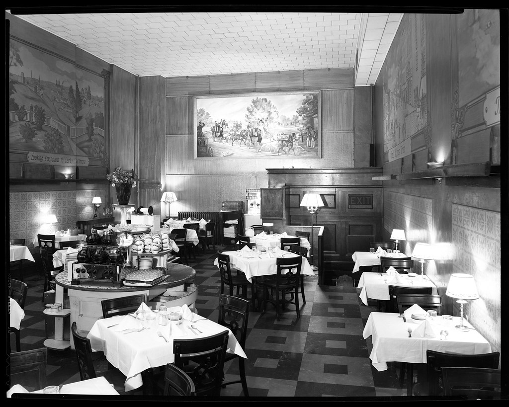 Marty s restaurant description interior view east