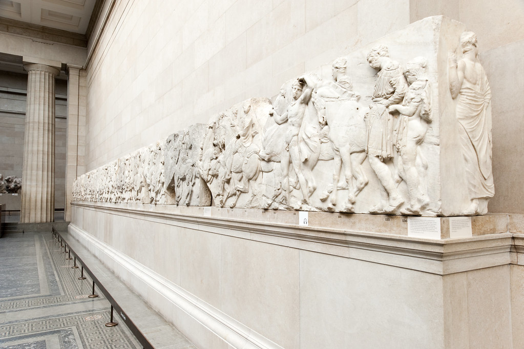 the parthenon sculptures should be retained in the british museum Greece has repeatedly requested the return of the parthenon sculptures and marbles to greece should the elgin marbles be brought back to the athens and be displayed in the acropolis museum or remain at the british museum.